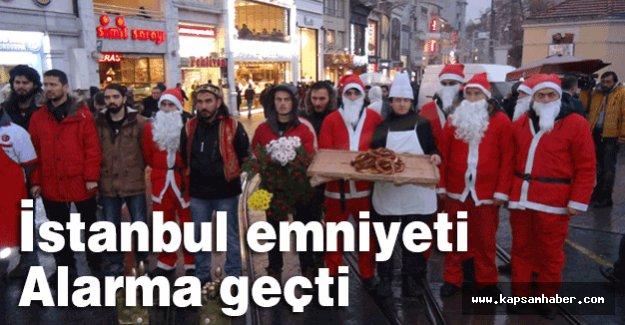 İstanbul emniyeti Alarma geçti