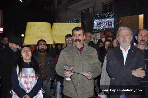 İzmir'de 'Hizmet içi eğitim' mesajına tepki