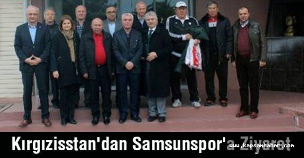 Kırgızisstan'dan Samsunspor'a Ziyaret