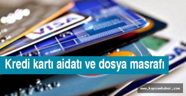 Kredi kartı aidatı ve dosya masrafı