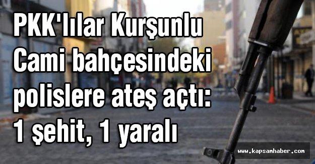Kurşunlu Camii'de Polis Şehit Edildi
