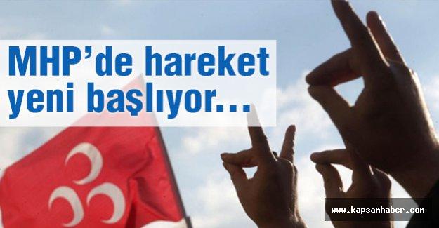 MHP'de Hareket Yeni Başlıyor...