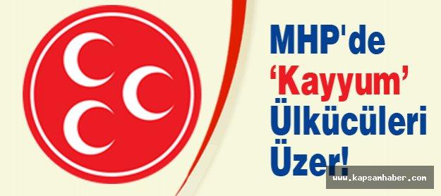 MHP'de 'Kayyum' Ülkücüleri Üzer!