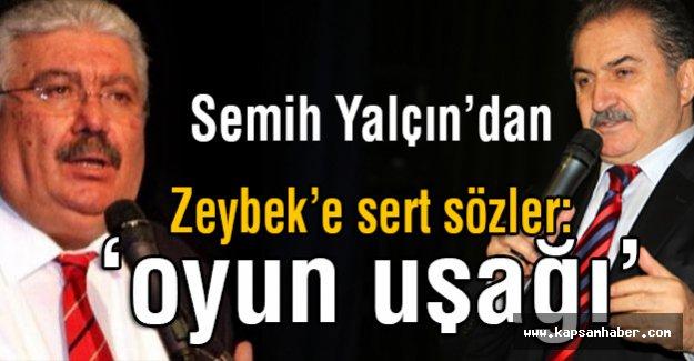 MHP'li Yalçın, Zeybek'in İddialarına çok sert Cevap Verdi