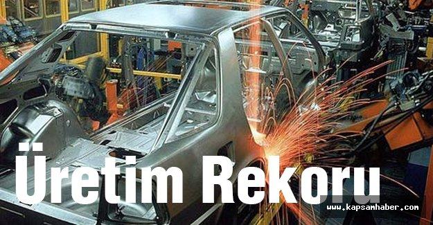 Otomotiv sanayinde üretim rekoru