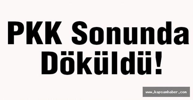 PKK Sonunda Döküldü!