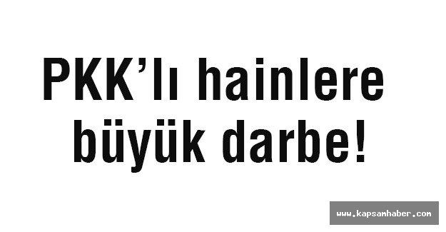 PKK'lı hainlere büyük darbe!