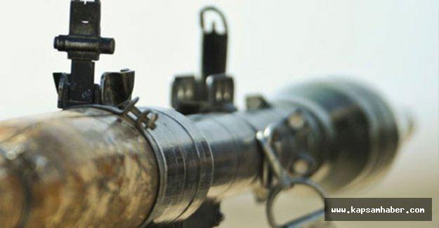 Roketatarlı saldırı: 1 polis yaralı