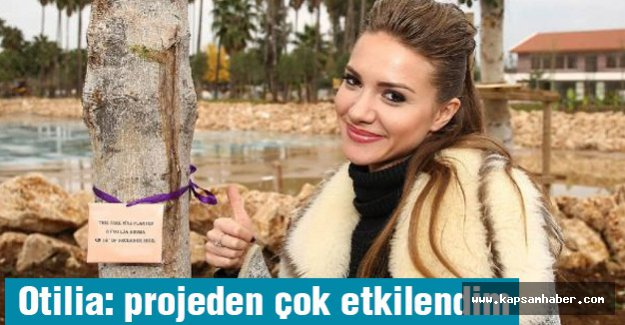 Rumen şarkıcı Otilia: projeden çok etkilendim