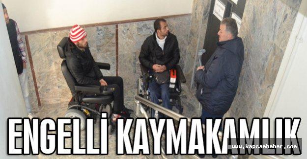 Samsun'da Engelli kaymakamlık