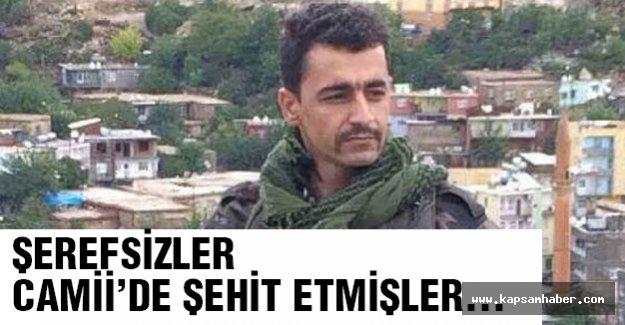 Şehit Mustafa'nın Camiide Vurulduğu belirtildi