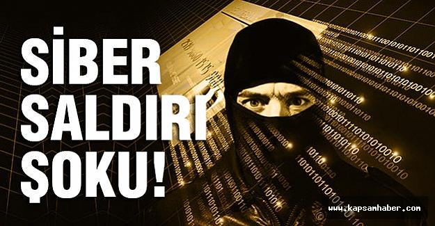 Siber saldırı bazı kurumları ve bankaları zora soktu....