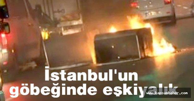 Terör yandaşları İstanbul'un göbeğinde eşkiyalık yapıyor