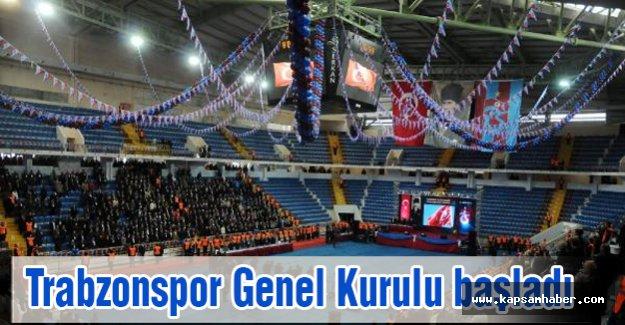 Trabzonspor Genel Kurulu başladı
