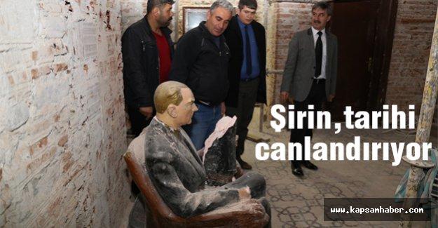 Turgay Şirin, Tarihi Canlandırıyor