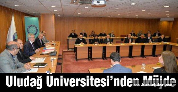 Uludağ Üniversitesi'nden Müjde