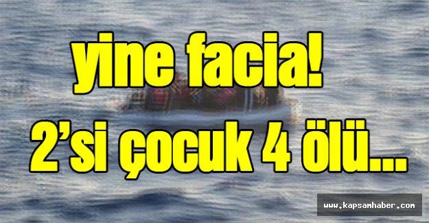 Yine Facia! 2'si Çocuk 4 Ölü...