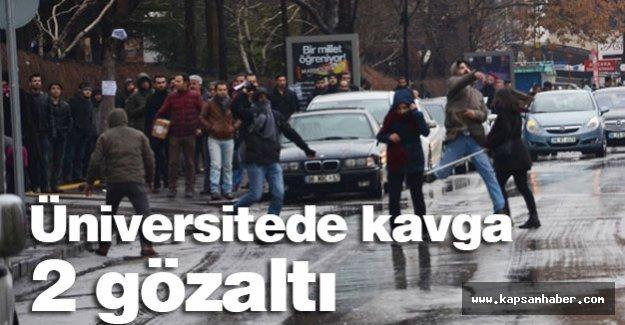 Ankara Üniversitesi'nde kavga?