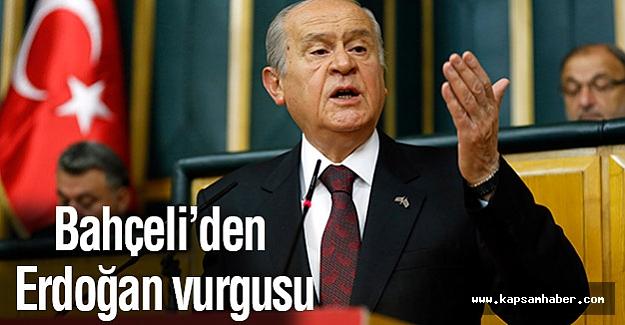Bahçeli Grup Toplandısında Erdoğan'a Yüklendi