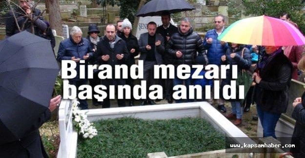 Birand mezarı başında anıldı