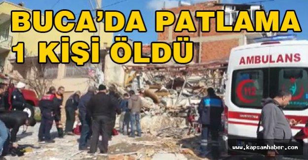 Buca'da patlama: 1 ölü