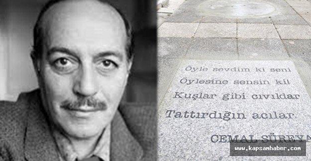 Cemal Süreya'nın sevilen şiirleri sokak taşlarında