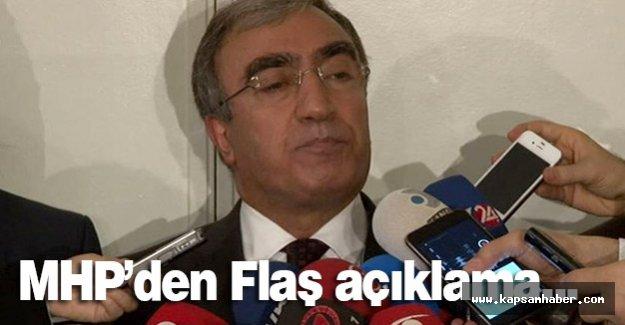 MHP'den Flaş Açıklama!