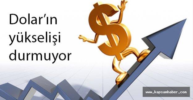 Dolar'ın Yükselişi Devam Ediyor