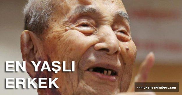 Dünyanın en yaşlı erkeği...