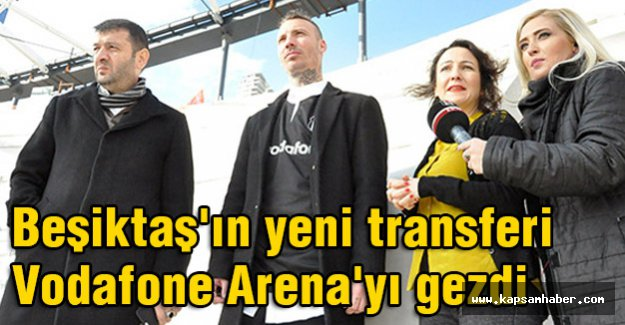 Fikret Orman,ve Alexis Delgado Vodafone Arena'da buluştu.