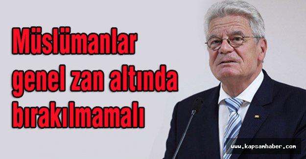 Gauck Uyardı; Müslümanlara Düşmanlık Beslemeyin!