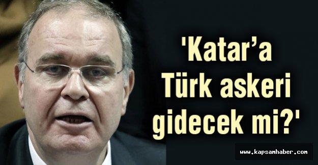 'Katar'a Türk askeri gidecek mi?'