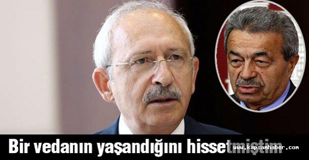 Kılıcdaroğlu siyasi ahlakın öncüsü oldu