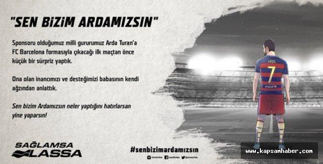 Lassa'dan Arda Turan'a duygusal destek filmi