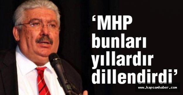 MHP'li Yalçın; Seferberlik Başlatılmalıdır