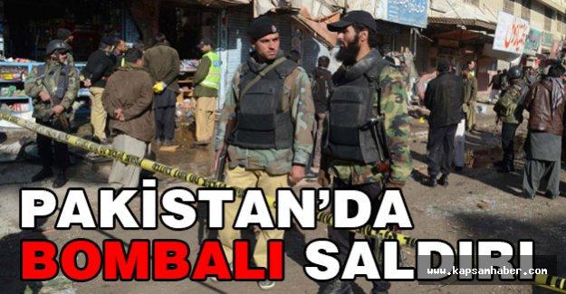 Pakistan'da Bombalı Saldırı 15 Kişi Öldü