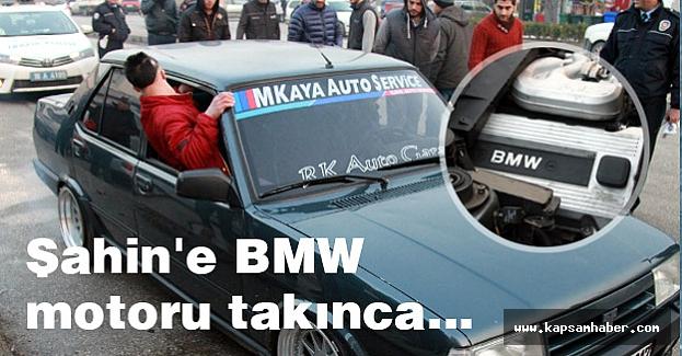 Şahin'e BMW motoru takınca Ne Olduğunu İzle...