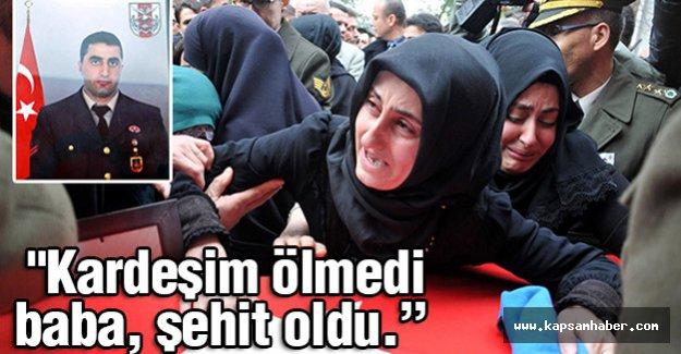 Şehit Uzman Çavuş Ali Şahin Manisa'da defnedildi