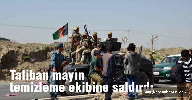 Taliban mayın temizleme ekibine saldırdı