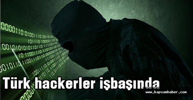 Türk hackerler çökertiyor...