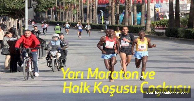 Yarı Maraton ve Halk Koşusu Coşkusu