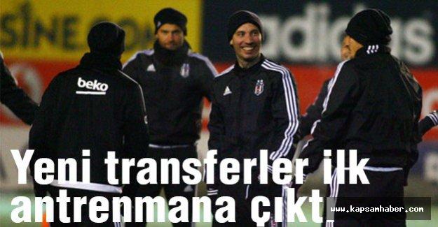 Yeni transferler ilk antrenmana çıktı