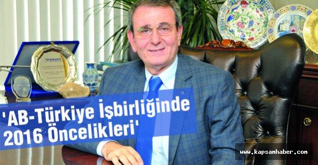 'AB-Türkiye İşbirliğinde 2016 Öncelikleri' sunumu
