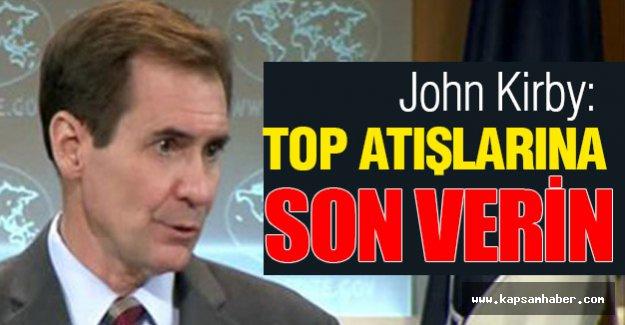 ABD: Top atışlarına son verin!