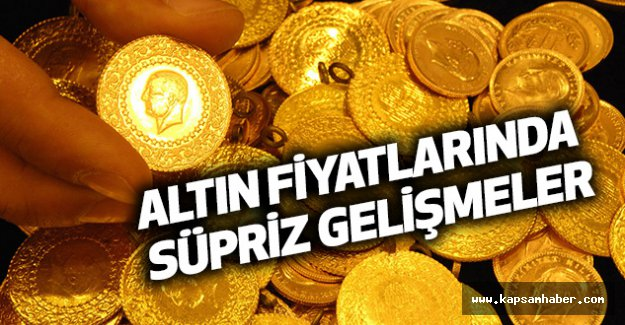 Altın Fiyatlarında Süpriz Gelişmeler