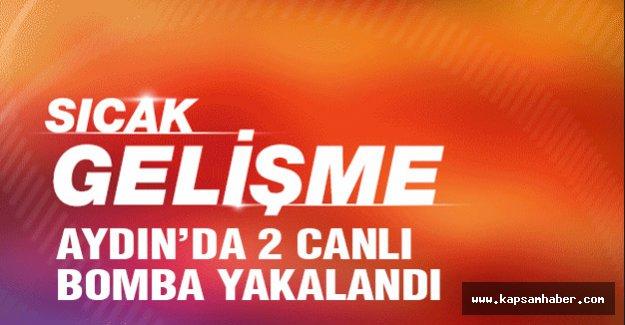 Aydın'da Canlı Bombalar Yakalandı