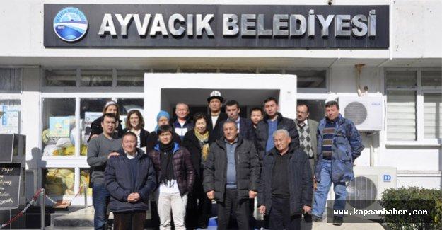 Ayvacık Belediyesi Kırgızistan Heyetini Ağırladı