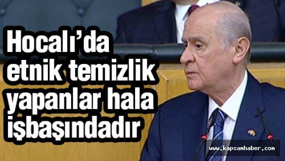 Bahçeli: Azerbaycan'ın egemenlik hakları ihlal edilmiştir.