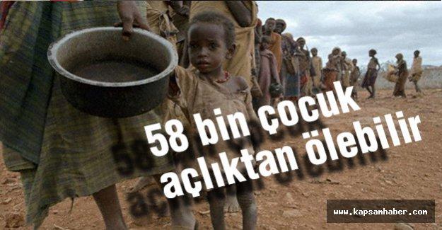 BM: Somali'de 58 bin çocuk açlıktan ölebilir