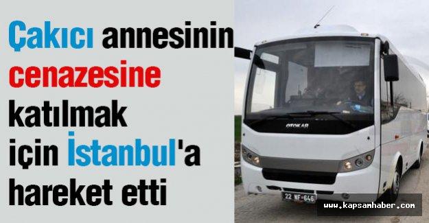 Çakıcı Annesinin Cenazesi İçin İstanbul'a Gidiyor